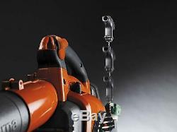 Husqvarna Leaf Blower 425 CFM 125B Handheld Blower Orange Gas Powered Adjustable