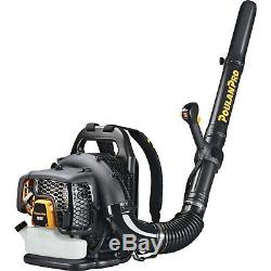LEAF BLOWER Backpack Gas Powered 2 Cycle 200 MPH Adjustable Speed Antivibration