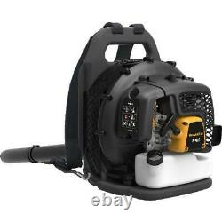 Leaf Blower Cordless 2-Cycle 48cc Gas Powered Backpack with Cruise Control Yard