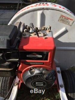 Little Wonder High Output 5HP Power Blower Briggs & Stratton Gas Motor Leaf