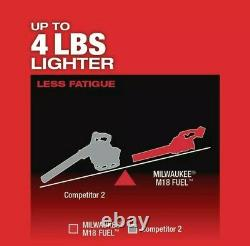Milwaukee 18V Leaf Blower M18 FUEL 450-CFM Cordless Handheld 2724-20 (Tool Only)