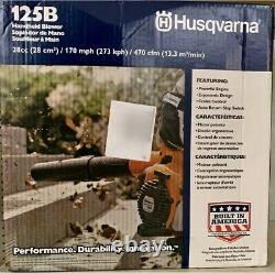 NEW HUSQVARNA 125B 28CC 170-Mph Gas Handheld Blower