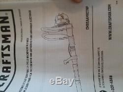 NIB Craftsman 27cc Gas Backpack Leaf Blower 2 CYCLE ELECTRIC START CMXGAAMR27BP