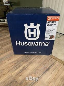 New Husqvarna 570BTS 2cyc Professional Gas Backpack Leaf Blower