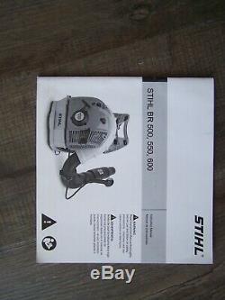 New Stihl BR 600 Gas Backpack Leaf Blower