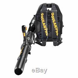 Poulan Pro 46cc Gas Backpack Leaf Blower PR46BT-BRC