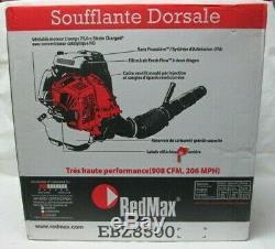RedMax EBZ8500 206 MPH 908 CFM 75.6 cc Gas Backpack Leaf Blower