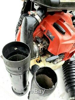 RedMax EBZ8500 Back Pack Leaf Blower well maintained and runs Great LOOK
