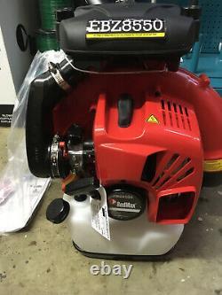 RedMax EBZ8550RH 206 MPH 1077 CFM Gas Backpack Leaf Blower Replaces EBZ8500RH