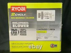 Ryobi 2 Cycle GAS BACKPACK BLOWER 175mph/760cfm RY38BPVNM (SPG041150)