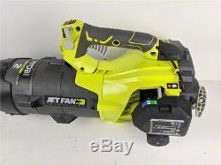 Ryobi Gas Jet Fan Leaf Blower 160 MPH Compact Handheld 520 CFM 25cc Yard Work