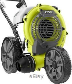 Ryobi Gas Walk-Behind Leaf Blower 200 MPH 520 CFM Wheeled Folding Handle