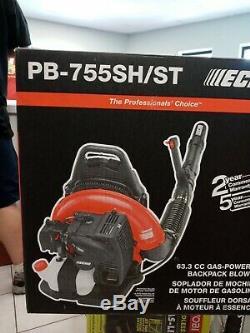 SEALED BOX ECHO 233 MPH 63.3cc Gas 2-Stroke Backpack Leaf Blower PB-755ST NEW
