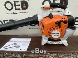 Stihl BG86 Commercial HandHeld Gas Leaf Blower 27cc NICE BLOWER SHIPS FAST