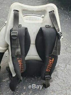 Stihl Br600 Commercial Gas Backpack Leaf Blower Excellent Condition