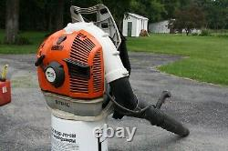 Stihl Br600 Magnum Gas Powered Back Pack Leaf Blower