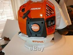 Stihl Br800x Commercial Magnum 80cc Leaf Blower Brand New 2019 Br700 Br600