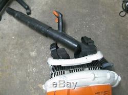 Stihl Br 600 Commercial Gas Backpack Leaf Blower Br600