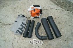 Stihl Sh86c Handheld Leaf Blower-vacuum We Ship Only On The East Coast