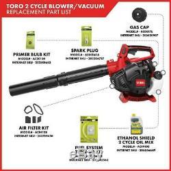 Toro Gas Leaf Blower/Vacuum/Mulcher 150 MPH 460 CFM 25.4cc 2-Cycle Handheld