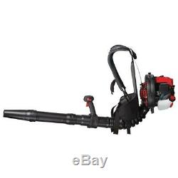 Troy-Bilt Backpack Gas Leaf Blower 2-Cycle 27cc Adjustable Speed Recoil Start