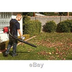 Troy-Bilt Backpack Leaf Blower 2-Cycle 27cc Adjustable Speed Gas Powered