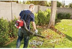Troy-Bilt Gas Backpack Leaf Blower 145 MPH 27 cc 2-Cycle Variable Speed Throttle