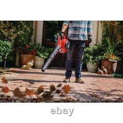 Troy-Bilt Gas Handheld Leaf Blower 2-Cycle 25cc 200-Mph 430-Cfm