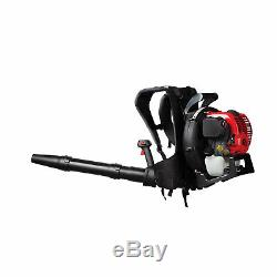 Troy-Bilt TB4BP 32cc 4 Cycle Gas Powered Backpack Leaf Blower with SpringAssist
