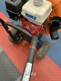 Used Billy Goat Gas Walk Behind Parking Lot & Leaf Blower Honda Power 9HP Engine