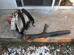 Used Stihl Br420 Backpack Leaf Blower Gas-powered Free Shipping