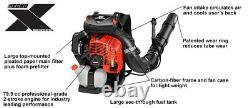 2020 Echo Pb-9010t 79.9 CC Gas Backpack Blower Grade Professionnel