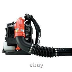 215 Mph 510 Cfm 58.2cc Gas 2-stroke Cycle Backpack Leaf Blower Avec Tube Throttl