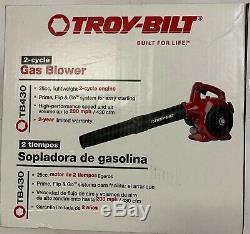 2 Cycle 200 Mph Handheld Troy-bilt Gas Souffleuse Easy Pull Démarrer Légère