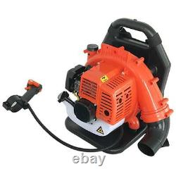 2-stroke Backpack Gas Leaf Blower 42.7cc Powered Debris Withpadded Harness États-unis Un