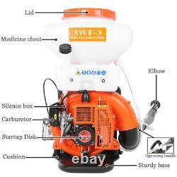 3.5 Gallon Sac À Dos Fogger Blower Duster Leaf Blower 3-en-1 (14l) Stroke Sprayer