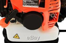 52cc 3.2hp 2t Gas Sac À Dos Souffleuse Harnais Rembourré Powered Debris Epa