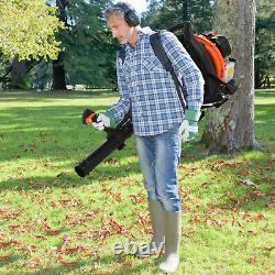 63cc 2.3hp High Performance Gas Powered Back Pack Slower 2-stroke Us