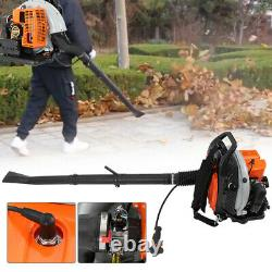 63cc 2 Temps Gas Commercial Leaf Backpack Blower Outdoor Yard Garden Sweeper États-unis