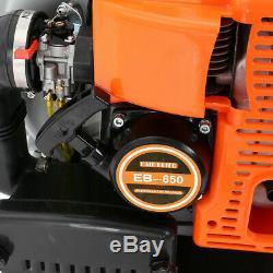 63cc 3hp Gaz Haute Performance Powered Back Pack Souffleuse 2 Stroke