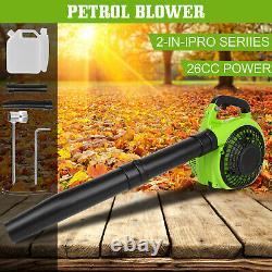 63cc 3hp High Performance Gas Powered Back Pack Leaf Blower 2 Stroke Orange Aa