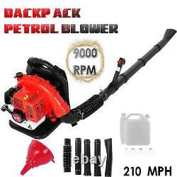 65cc 3.2hp 2-stroke High Performance Gas Powered Back Pack Souper De Feuille 2.3kw