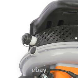 65cc Gas Powered Backpack Gasoline Leaf Blower Grass Sweeper 2 Stroke Engine Nouveau