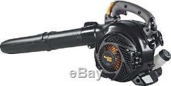 680 Cfm 25cc Gaz Souffleuse À Vide 2 Cycle Puissant Moteur De Filtre À Air Vitesse Outil