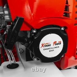 79.4cc 2-cycle Gas Powered Leaf Blower Grass Yard Sac À Dos Rembourré Strap Epa