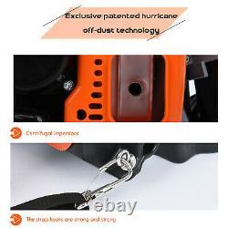 80cc 2-stroke Essence Sac À Dos Puissant Souffleur Leaf Blower Motor Gas 850 Cfm Us