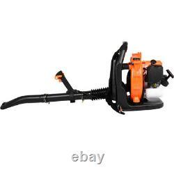 80cc 2stroke Sac À Dos Puissant Souffleur Leaf Blower Motor Gas 850 Cfm 7500r/min Us