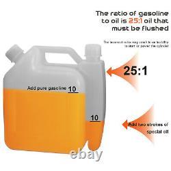 80cc Sac À Dos 2 Temps Puissant Souffleur Leaf Blower Motor Gas 850 Cfm Us Stock