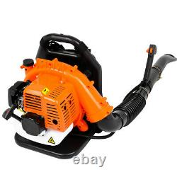 850cfm Sac À Dos Leaf Blower Gas Power 80cc 2 Temps Garantie Puissante De 2 Ans