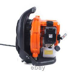 Backpack Blower Gas Powered Volume D'air Réglable Leaf Blower 2-stroke Engine Us